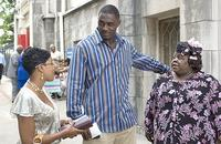 Maya (Malinda Williams), Monty (Idris Elba) and Rita (Cassie Davis) in Tyler Perry's