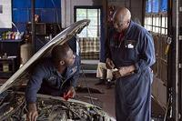 Idris Elba and Louis Gossett, Jr. in Tyler Perry's