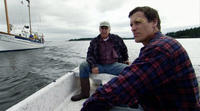 Eben (Thomas Hildreth) and Popper (Philip Baker Hall) return from fishing in
