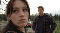 Cheryl (Amy Jo Johnson) and Eben (Thomas Hildreth) must make a decision in