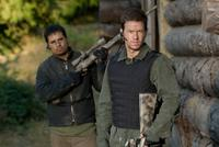 Michael Peña and Mark Wahlberg in
