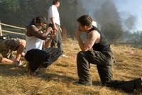 Mark Wahlberg and Antoine Fuqua in