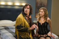 Will Ferrell and Jenna Fischer in