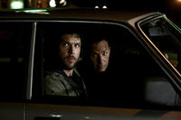 Dane Cook and Kevin Costner in