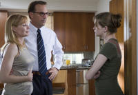 Marg Helgenberger, Kevin Costner and Danielle Panabaker in