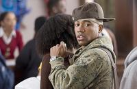 Columbus Short as DJ in