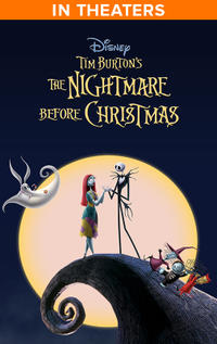 Tim Burton's The Nightmare Before Christmas poster art