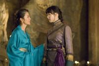Michelle Yeoh as Zi Yuan and Isabella Leong as Lin in