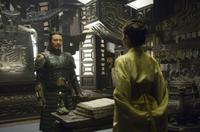 Jet Li as Emperor Han and Michelle Yeoh as Zi Yuan in