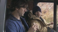Jeff Lagrand (Paul Schneider) and Rugged (Aaron Stanford) in