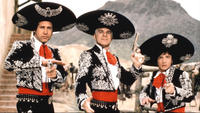 Three Amigos Steve Martin, Chevy Chase and Martin Short