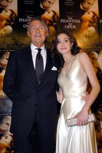 Joel Schumacher and Emmy Rossum