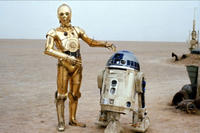 R2-D2 and C-3PO from Star Wars