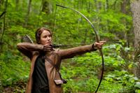 Jennifer Lawrence As Katniss Everdeen in 'The Hunger Games'