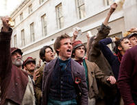 Eddie Redmayne in Les Miserables