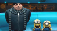 Steve Carell as Gru in 'Despicable Me'
