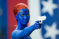 Jennifer Lawrence As Raven/Mystique in 'X-Men: Days of Future Past'