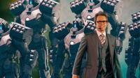 Sam Rockwell as Justin Hammer, 'Iron Man 2'