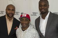 David Tyree, Spike Lee, and Plaxico Burress