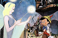 The Blue Fairy in 'Pinocchio'