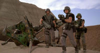 Johnny Rico in 'Starship Troopers'
