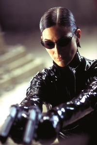Carrie-Anne Moss as Trinity, 'The Matrix movies'