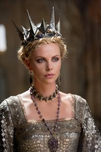charlize theron in Snow White and the Huntsman