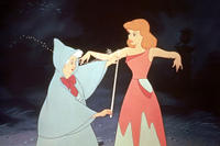 The Fairy Godmother in 'Cinderella'