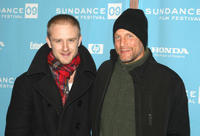 Ben Foster and Woody Harrelson