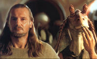 Liam Neeson in Star Wars: Episode I -- The Phantom Menace