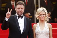 Russel Crowe and Danielle Spencer