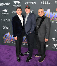 Anthony Russo, Kevin Feige and Joe Russo