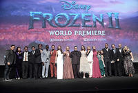 Cast and crew of 'Frozen 2'