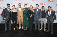"Sam Medina, Ronda Rousey, Peter Berg, Lauren Cohan, Chae-rin ""CL"" Lee, Mark Wahlberg, Iko Uwais and Carlo Alban"