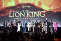 The Lion King cast members