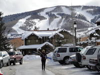 The slopes at Sundance Film Festival 2010