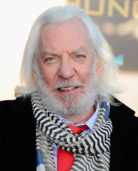 Hunger Games Donald Sutherland
