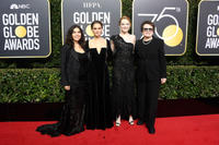 America Ferrera, Natalie Portman, Emma Stone and Billie Jean King