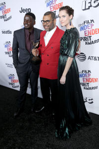 Daniel Kaluuya, Jordan Peele and Allison Williams