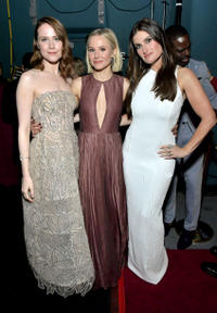 Evan Rachel Wood, Kristen Bell and Idina Menzel
