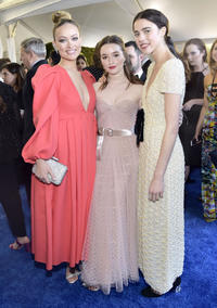 Olivia Wilde, Kaitlyn Dever and Margaret Qualley