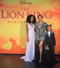 Shahadi Wright Joseph, Beyonce Knowles-Carter and Blue Ivy Carter