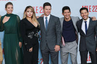 Lauren Cohan, CL, Mark Wahlberg, Iko Uwais and Carlo Alban