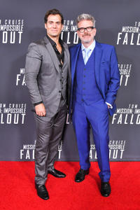 Henry Cavill and Christopher McQuarrie
