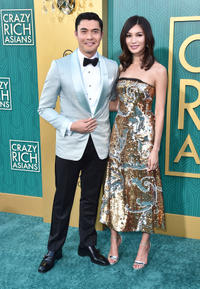 Henry Golding and Gemma Chan