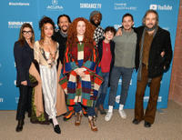 Laura San Giacomo, FKA Twigs, Clifton Collins Jr., director Alma Har'el, Byron Bowers, Noah Jupe, Shia LaBeouf and Craig Stark