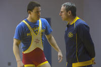 Steve Carell Channing Tatum in Foxcatcher