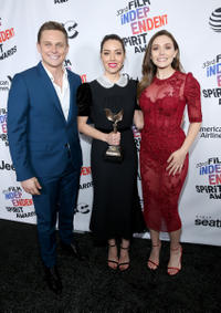 Billy Magnussen, Aubrey Plaza and Elizabeth Olsen