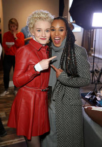 "Julia Garner of ""The Assistant"" and Kerry Washington of ""The Fight"""