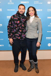 Jesse Williams and Gina Torres